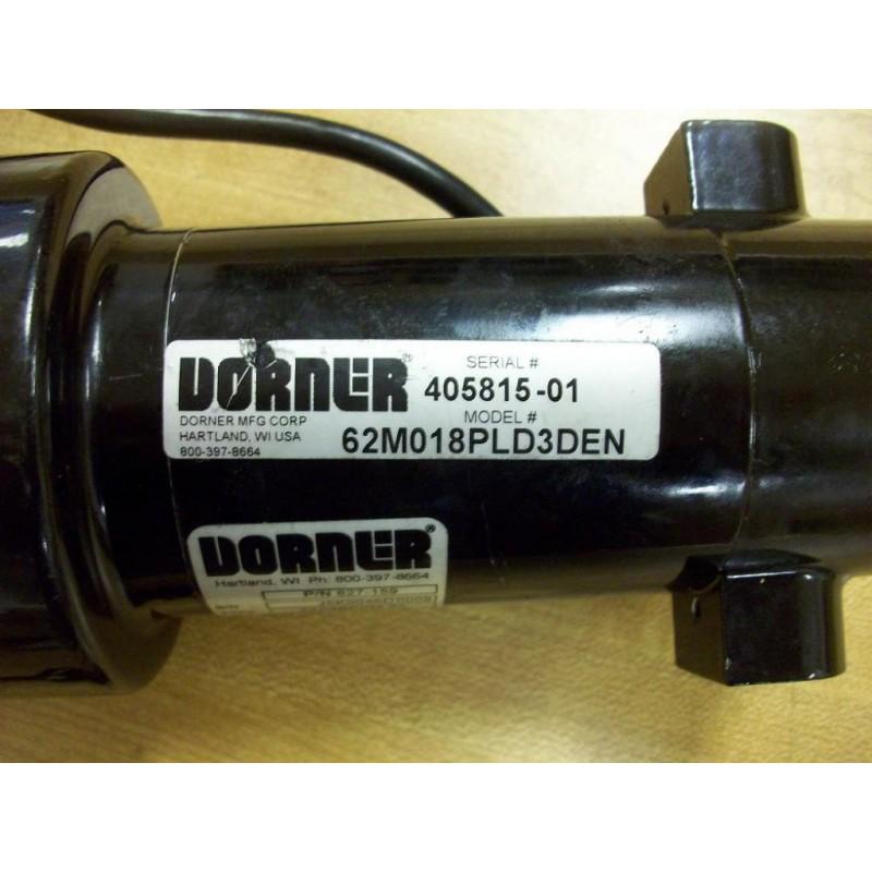 Dorner 62m018pld3den gearmotor used mara industrial Dorner motor