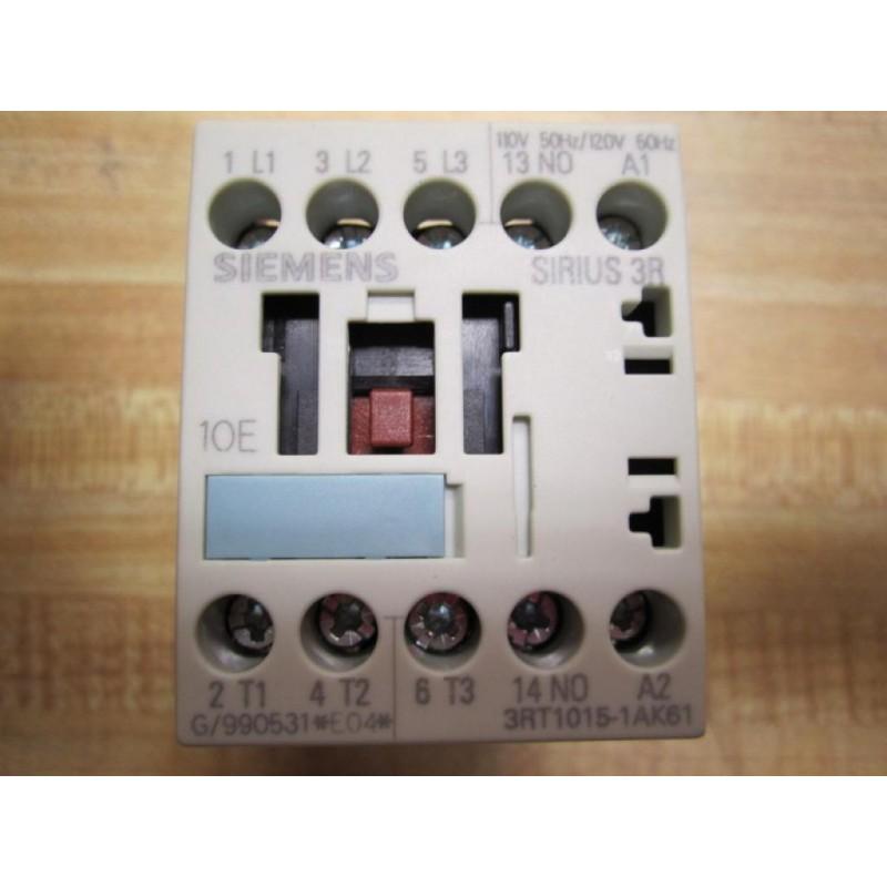 3RB1015-2PBO  Sirius Siemens Contactor  3RT1015-1AK61
