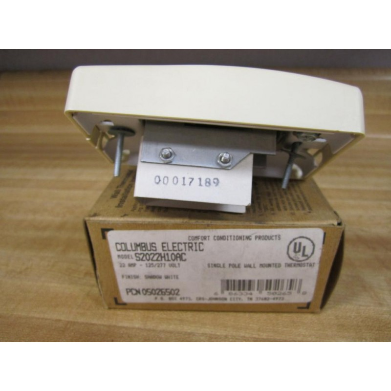 Columbus Electric S2022h10ac Thermostat E38220 Small Crack