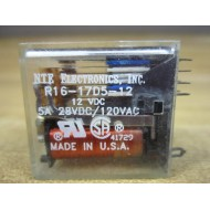 NTE Electronics, Inc. R16-17D5-12 Relay R1617D512 - Used