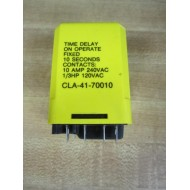 Potter & Brumfield CLA-41-70010 Time Delay Relay CLA4170010 - Used