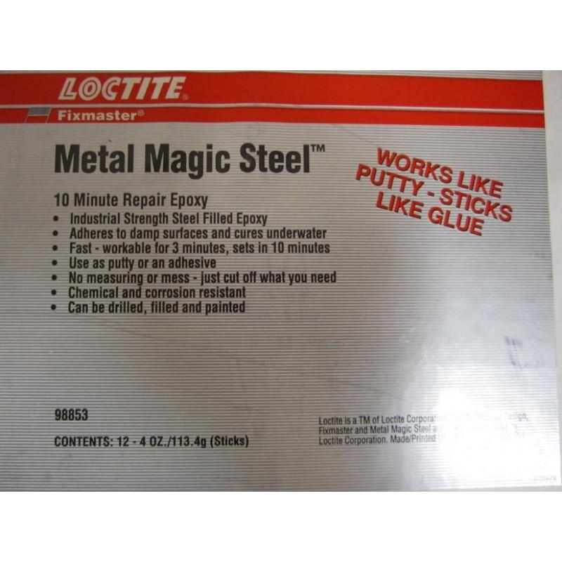 loctite 98853 10 minute repair epoxy case of 12 metal magic steel mara industrial. Black Bedroom Furniture Sets. Home Design Ideas
