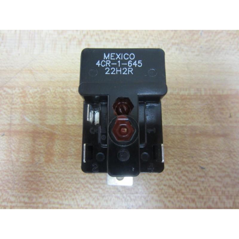 Klixon 4cr-1-645 Motor Starting Relay 40497
