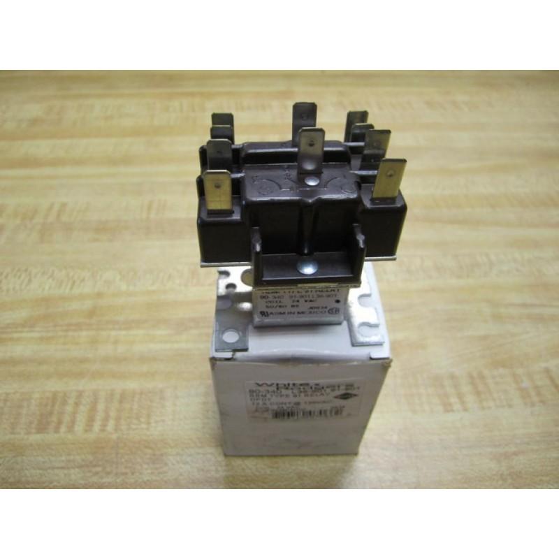 White-rodgers 90-340 Rbm Relay Type 91 Dpdt 24v