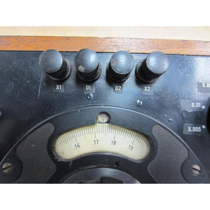 Old Ge Test Instruments : General electric g antique portable double bridge