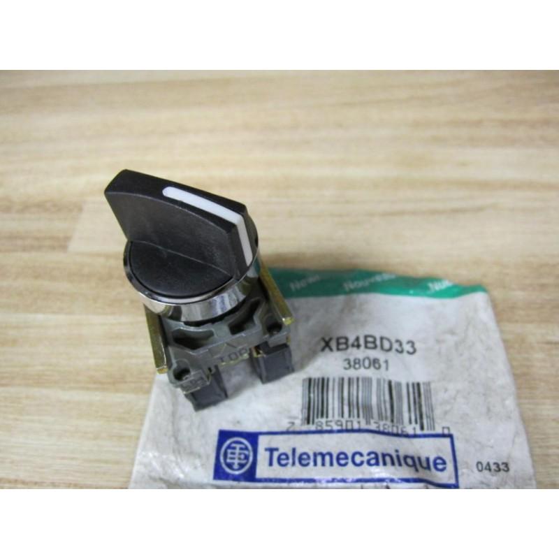 TELEMECANIQUE ZBE-102 / ZBE 102, Hilfsschalter + Drucktaster