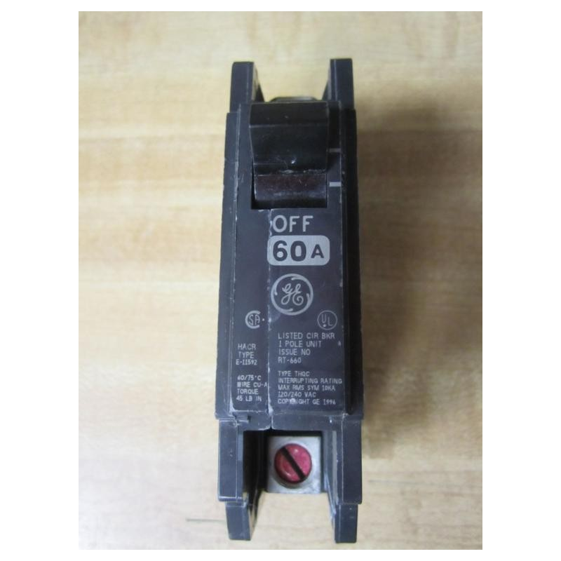 general electric e-11592 1 pole circuit breaker hacr type ... split type air conditioner wiring diagram