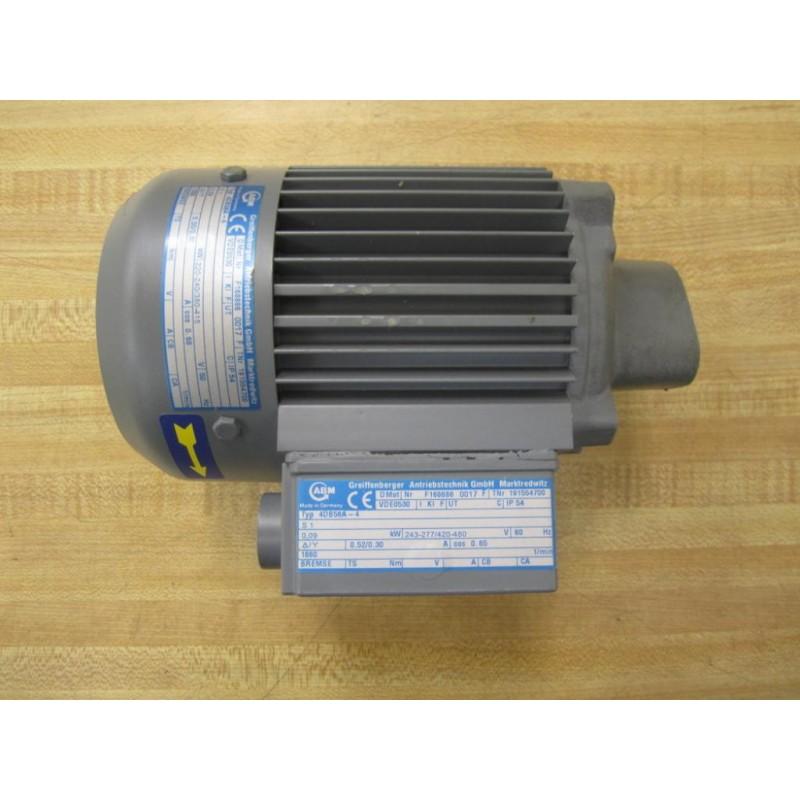 ABM 4DB56A-4 Motor F168686 0017 F VDE0530 - New No Box ...