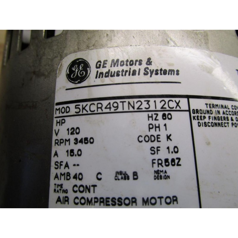 General Electric 5kcr49tn2312cx Compressor Parts Only