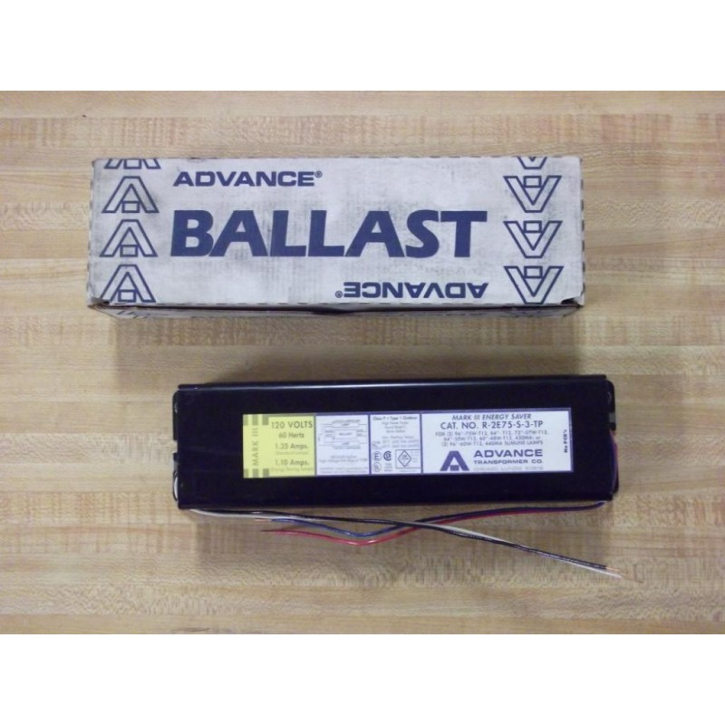 Advance Ballast R 2e75 S Tp Wiring Diagram   42 Wiring
