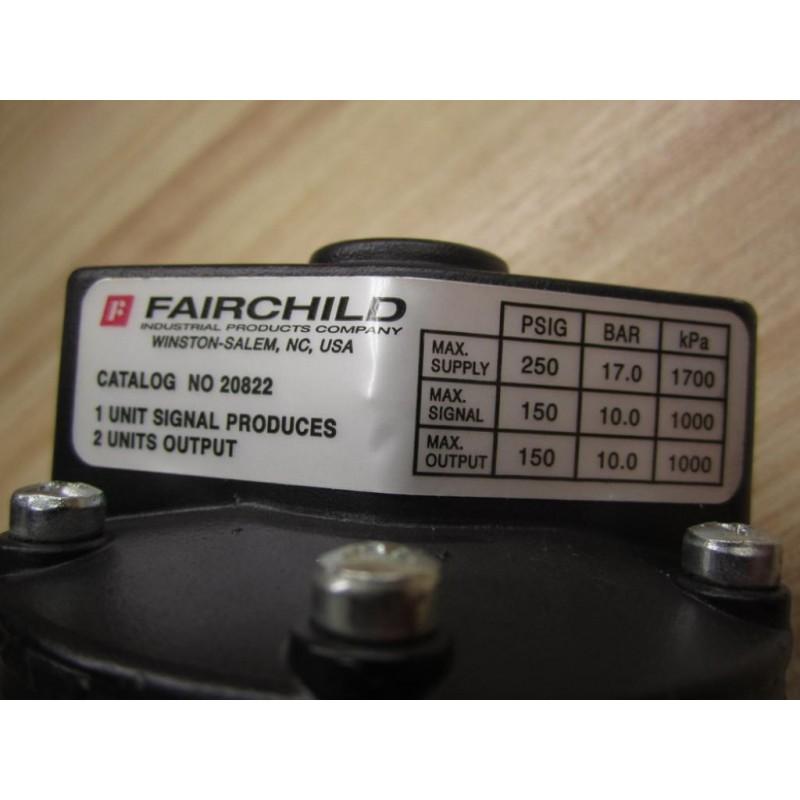 Fairchild 20822 Volume Booster - New No Box - Mara Industrial