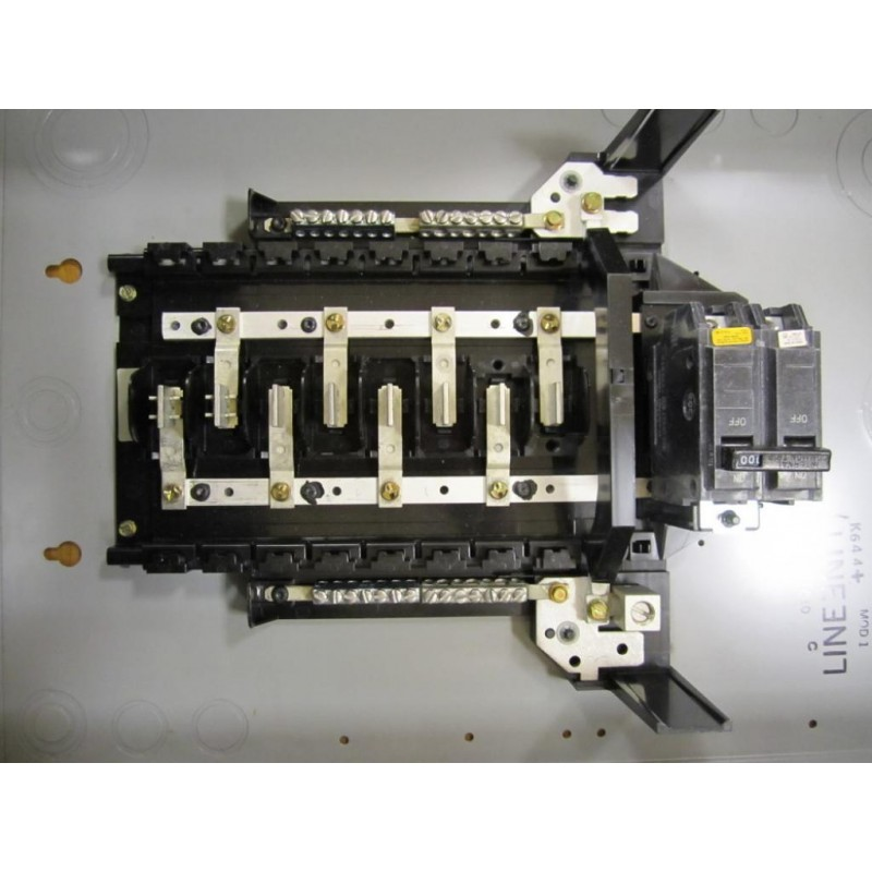 Electrical Load Center : General electric tm c circuit breaker load center