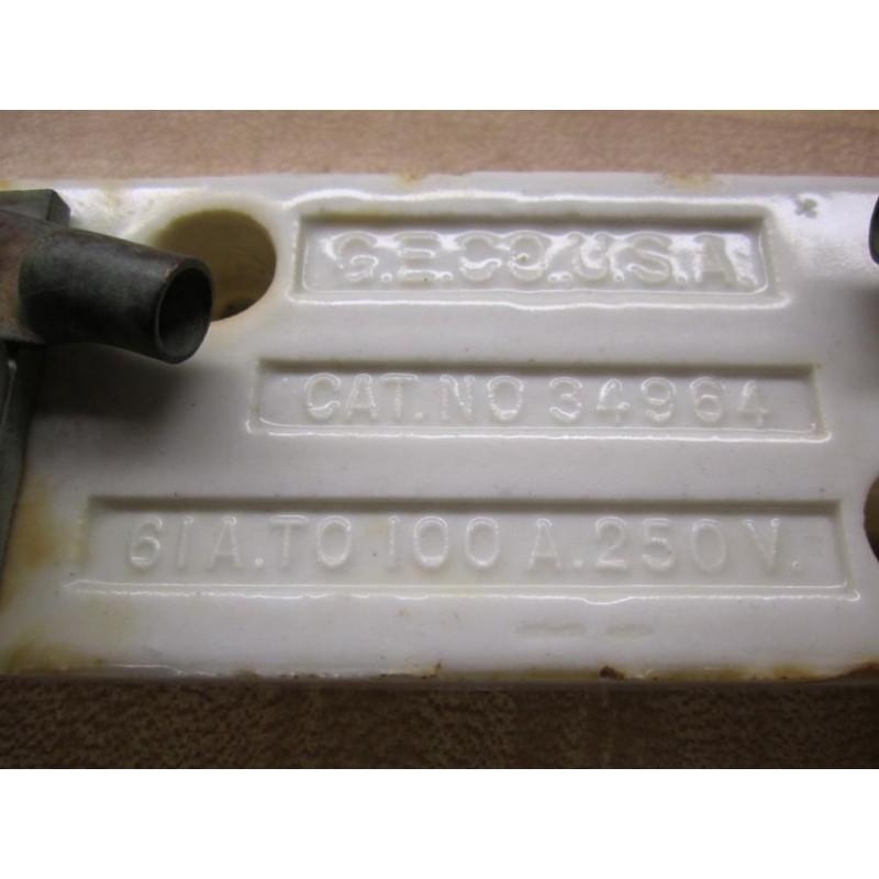 general electric 34964 vintage industrial fuse holder. Black Bedroom Furniture Sets. Home Design Ideas
