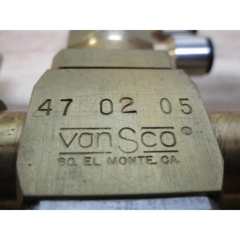 Vansco 470205 47 02 05 Adhesive Valve Mara Industrial