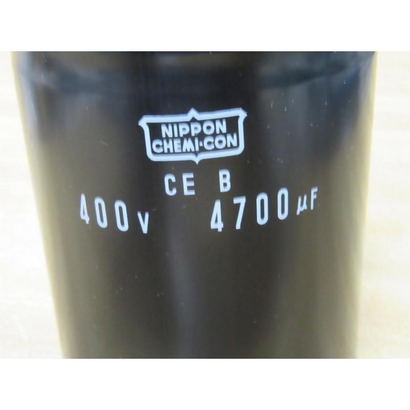 Nippon Chemi Con Ceb 4700uf Capacitor 400v Used Mara