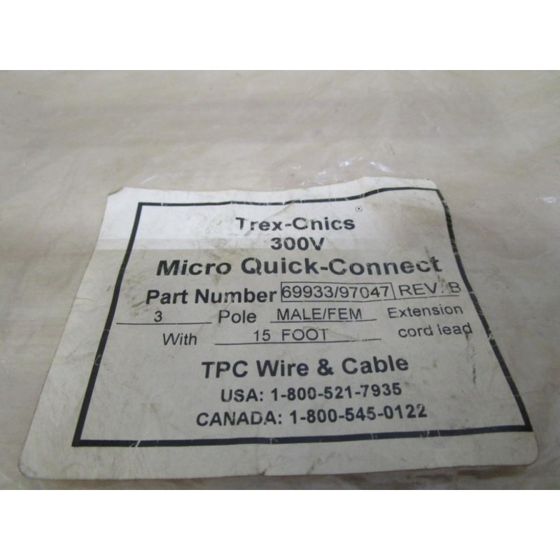 T.P.C. Wire & Cable 699397047 699397047 970476993 Cable - Mara ...