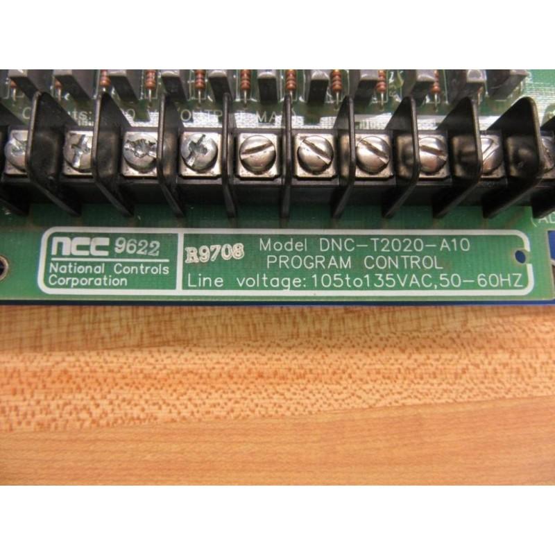 NCC DNC-T2020-A10 Circuit Board DNCT2020A10 - Used - Mara