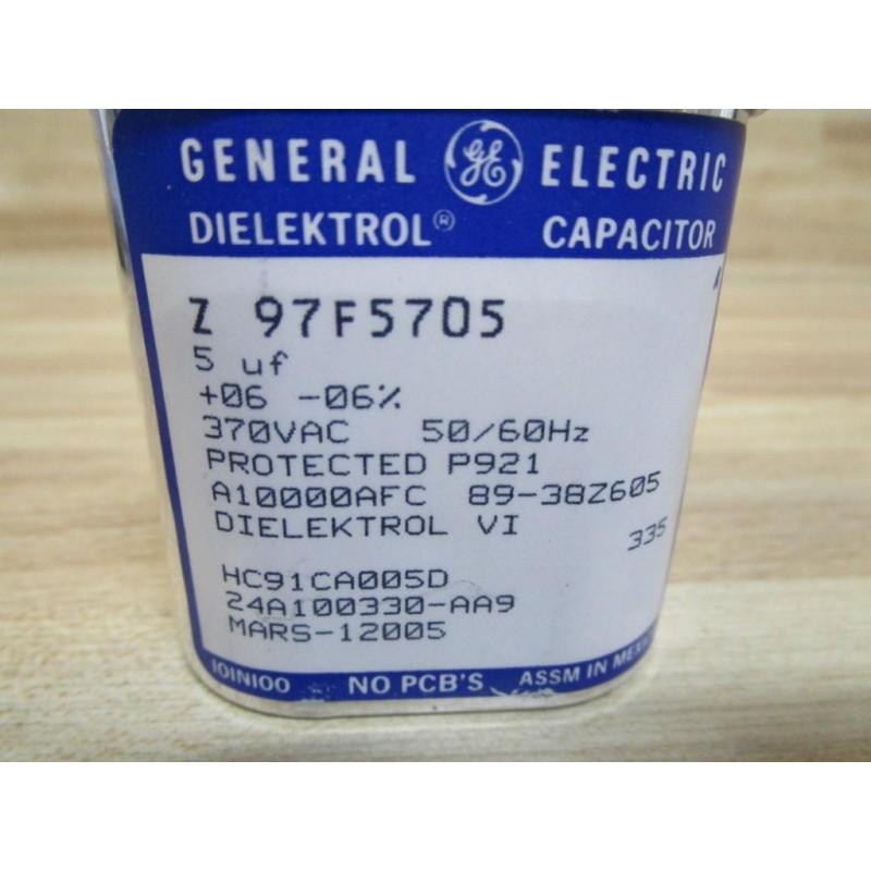 General Electric Z97F5705 Motor Run Capacitor - New No Box