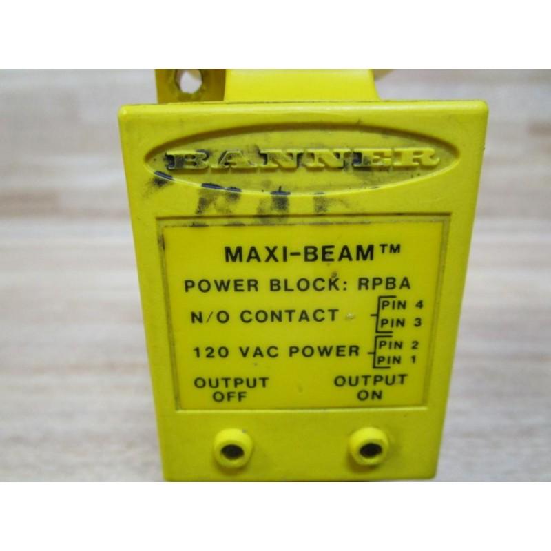 Banner RPBA Power Block 25545 W// RSBF