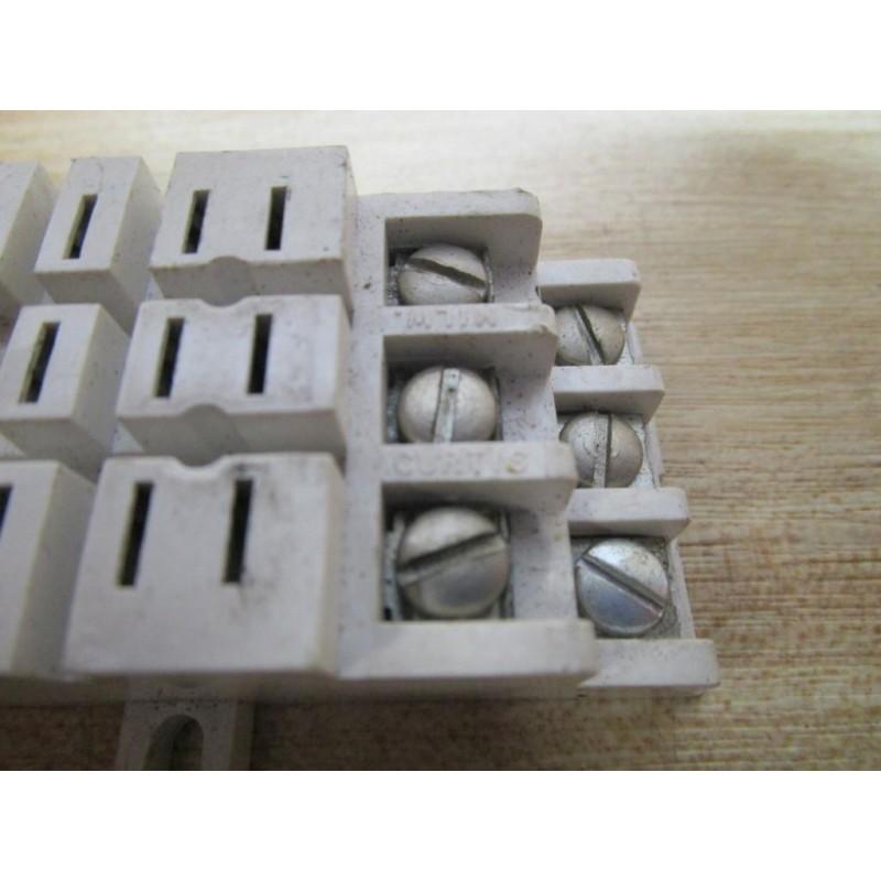 Curtis 11 Pin Relay Socket 11 Pin - Used