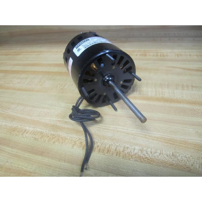Fasco 7121-3273 Model D209 GP Double Shaft Motor 71213273