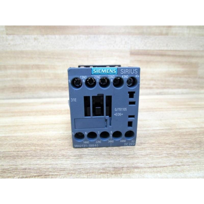 Siemens 3RH2131-1BB40 Contactor Relay 3RH21311BB40 - New No