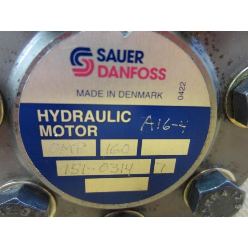 Electric Hydraulic Pump >> Sauer Danfoss OMP 160 Motor Pump 160 CC 5700 0422 - Refurbished - Mara Industrial