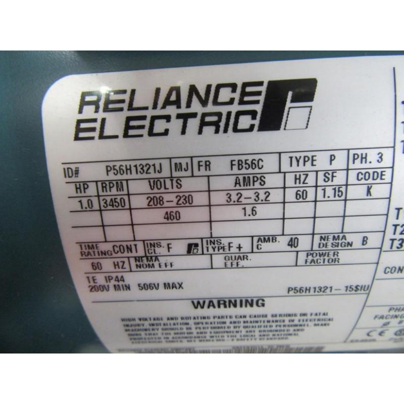 Cincinnati Fan SPB1203T31 Centrifugal Blower Fan W Reliance