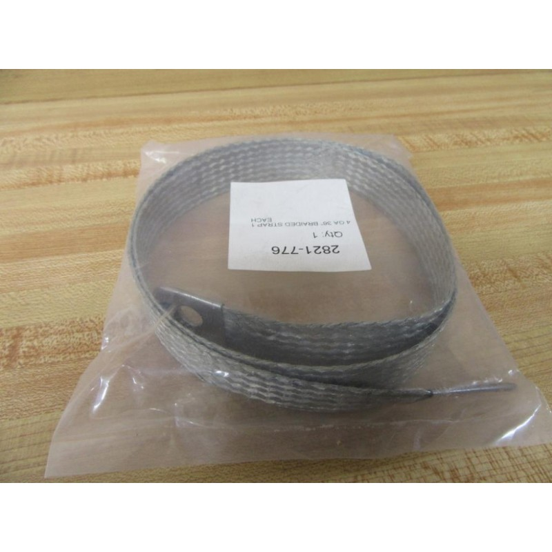 Details about  /Part 2821-776 4 Gauge Braided Grounding Strap 2821776