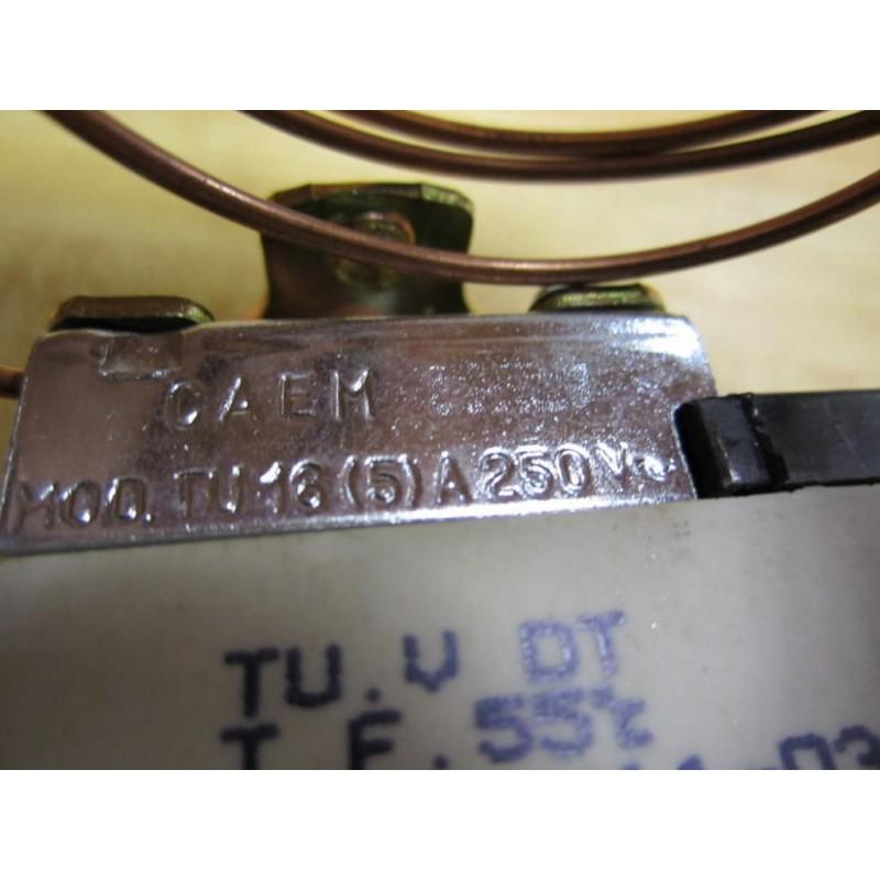 Caem Tu 16  5 A 250v Thermostat - New No Box